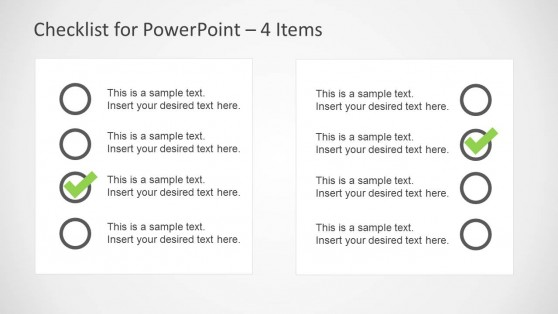 2 Check Lists PowerPoint Slide Design