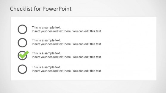 Checklist Template for PowerPoint