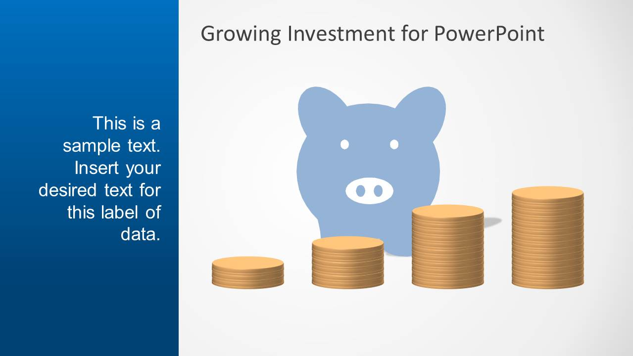 Blue growth investment powerpoint template slidemodel blue growth investment powerpoint template alramifo Gallery
