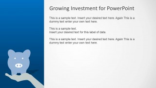 PowerPoint Piggy Bank Clipart Investment