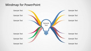 mind map diagram template for powerpoint  slidemodel, Powerpoint