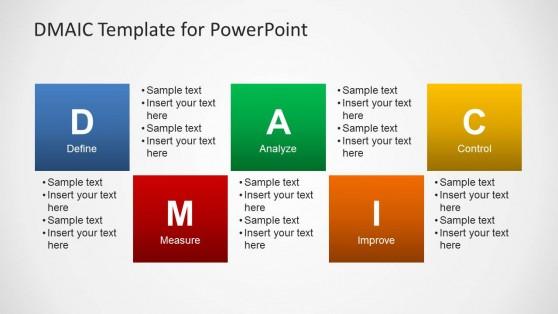 Dmaic Template For Powerpoint Slidemodel