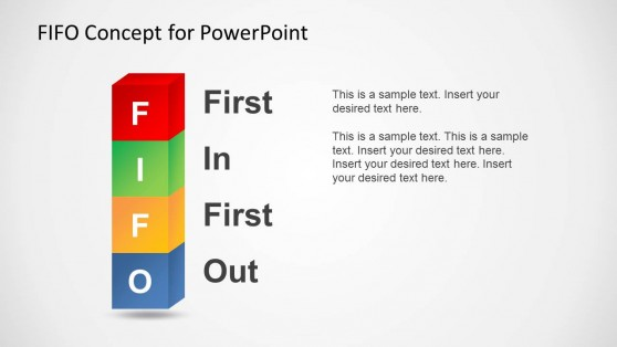 First In First Out Powerpoint Templates