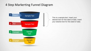 PowerPoint Marketing Funnel Reach Act Transition