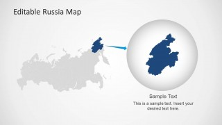 Editable russia map template for powerpoint slidemodel editable russia map template for powerpoint fully customizable this russian map template can support personal and professional reports on numerous toneelgroepblik Images