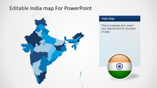 Editable india map template for powerpoint slidemodel editable india map template for powerpoint is a presentation template for microsoft powerpoint containing useful slide designs with map shapes that you can toneelgroepblik Gallery