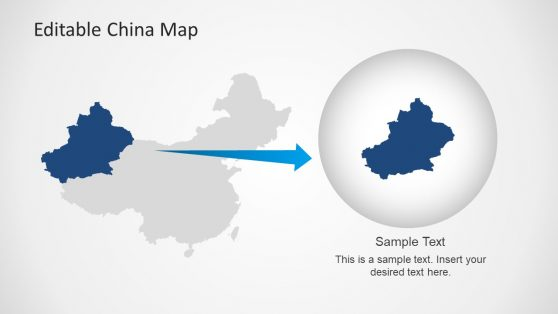 editable china map template for powerpoint