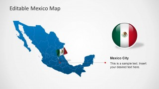 Editable mexico map template for powerpoint slidemodel editable mexico map template for powerpoint this powerpoint template provides and editable map for mexico with all administrative districts laid out in the toneelgroepblik Images