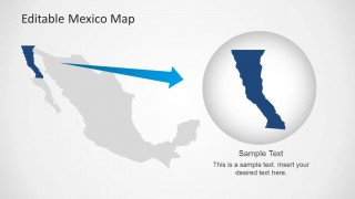 Editable mexico map template for powerpoint slidemodel editable mexico map template for powerpoint this powerpoint template provides and editable map for mexico with all administrative districts laid out in the toneelgroepblik Gallery