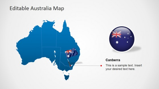 PPT Australia Map Template