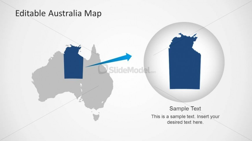 Australia PPT Template with Territory Highlight