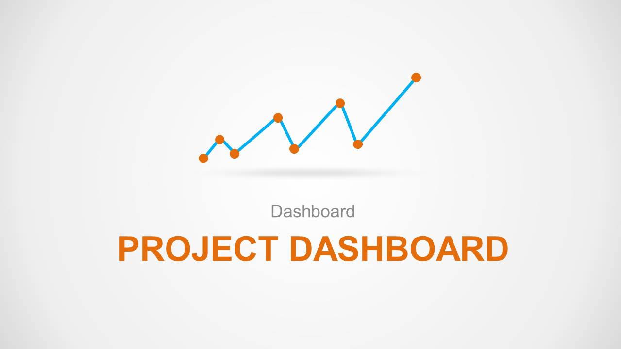 Powerpoint Project Status Dashboard Template