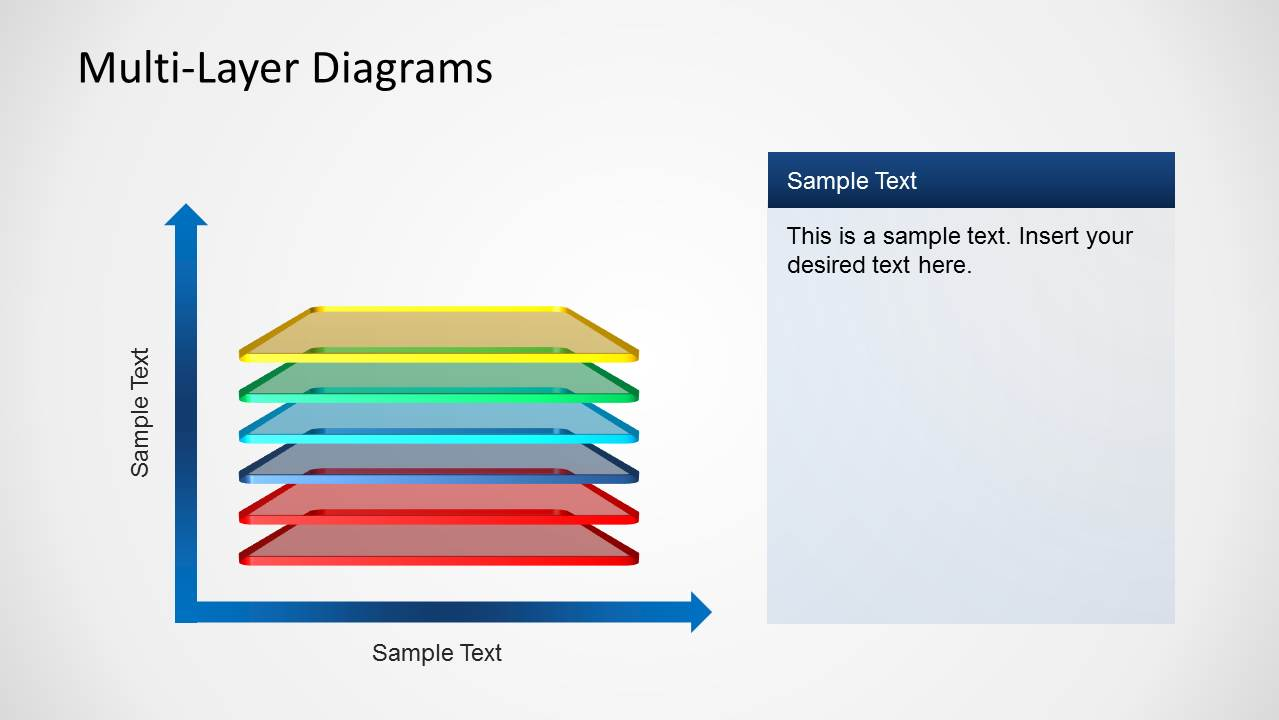 Simple Layered Diagrams For Powerpoint