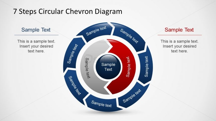 Circular Flow Chart Diagram for PowerPoint