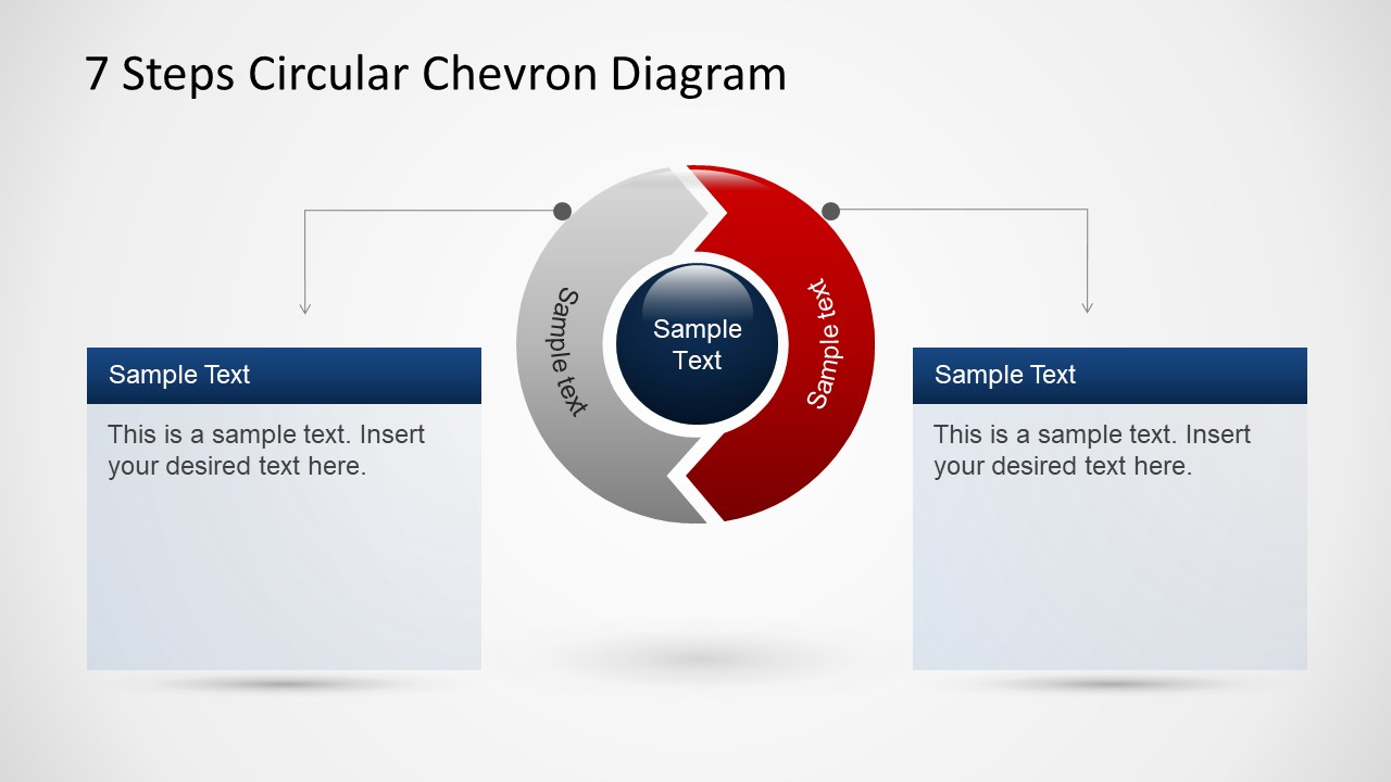 Chevron 7 Step Diagram Not Lossing Wiring Block In Powerpoint Steps Circular For Slidemodel Rh Com Process Task
