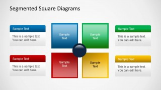 Squared Table Template with Placeholder