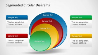 Segmented Circles PPT Template for PowerPoint