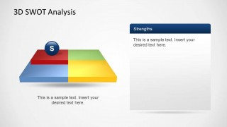 SWOT Strengths Slide Design Template for PowerPoint