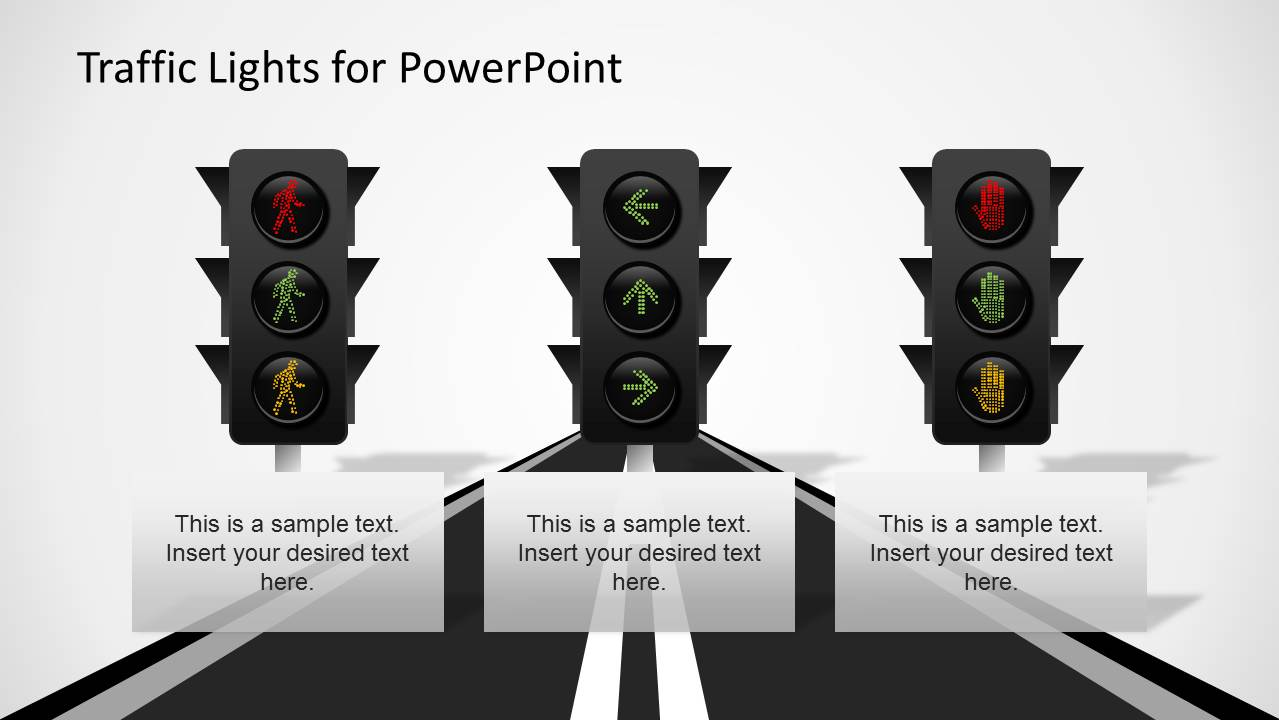 Traffic Lights PowerPoint Template - SlideModel