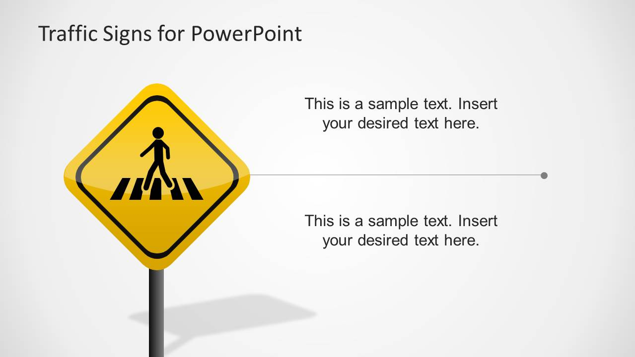 Traffic Signs Template for PowerPoint - SlideModel