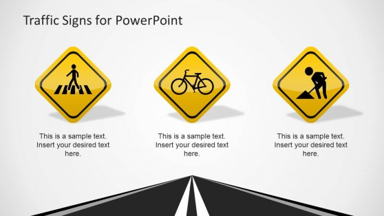 Traffic Signs Slide Design for PowerPoint