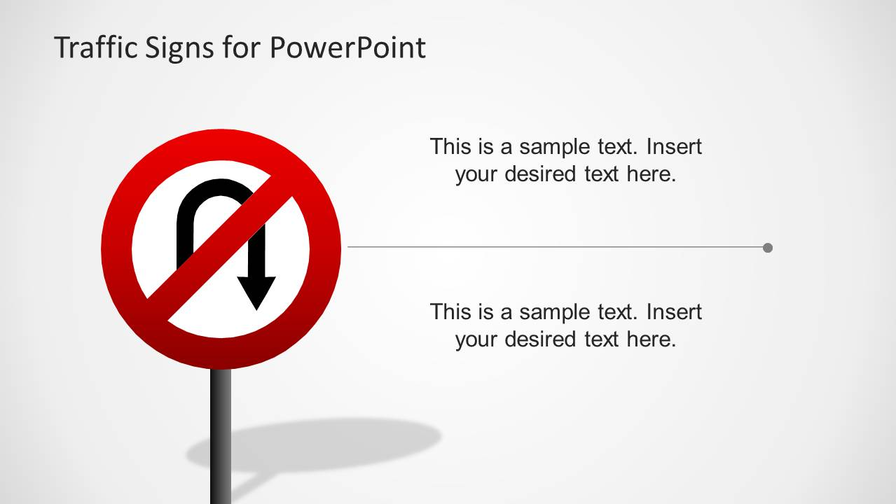 traffic signs template for powerpoint - slidemodel, Powerpoint templates