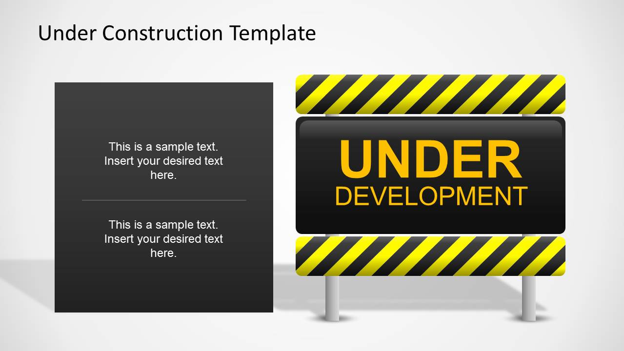 under development slide design