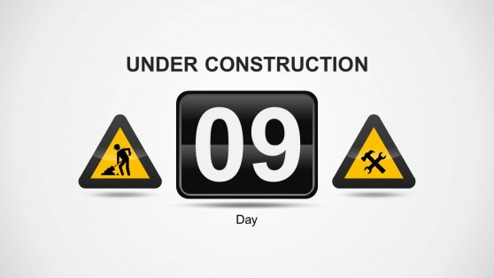 Under Construction Number of Days Remaining