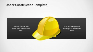 Safety Helmet Illustration for PowerPoint
