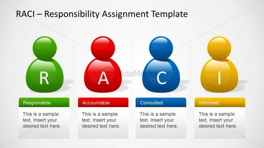 Raci Template For Powerpoint With Avatars  Slidemodel