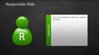 Responsible Slide Design RACI Template