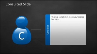Consulted Slide Design RACI Template
