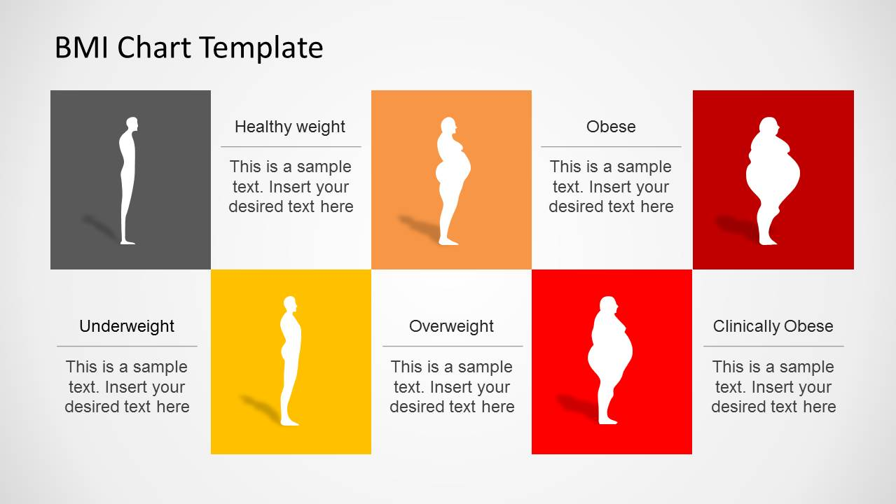 Bmi chart powerpoint template slidemodel geenschuldenfo Image collections