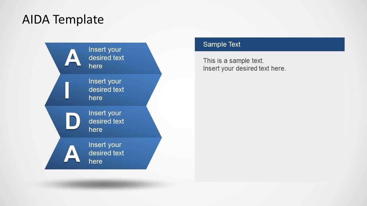 AIDA Template for    PowerPoint     SlideModel