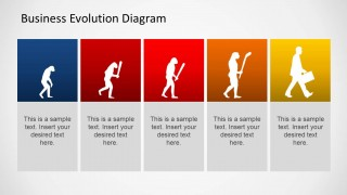 Business evolution diagram for powerpoint slidemodel business evolution diagram for powerpoint is a presentation template for displaying different business themed topics such as different steps of a business toneelgroepblik Gallery