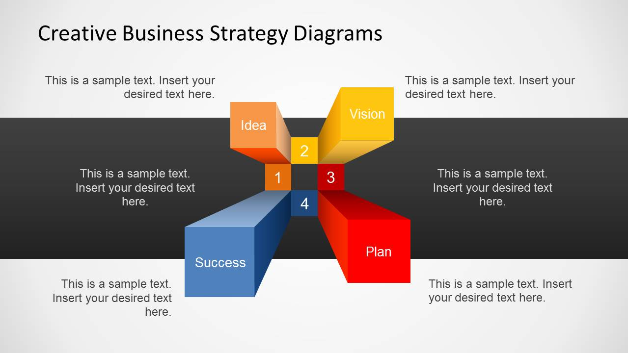 Corporate strategy and planning powerpoint presentation slides.