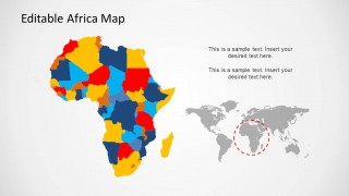PowerPoint Map of Africa and Countries
