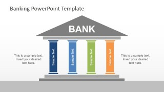 Bank Establishment PowerPoint Slide