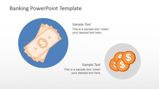 Bank Money PowerPoint Template