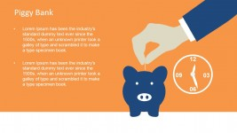 Piggy Bank PowerPoint Template