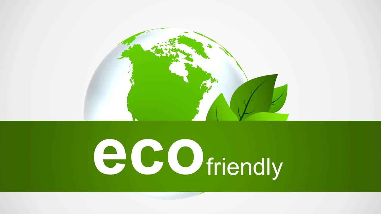 Eco friendly powerpoint templates eco friendly powerpoint template with recycle icons toneelgroepblik Choice Image