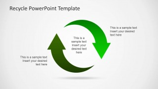 Circular Arrows Clipart for PowerPoint