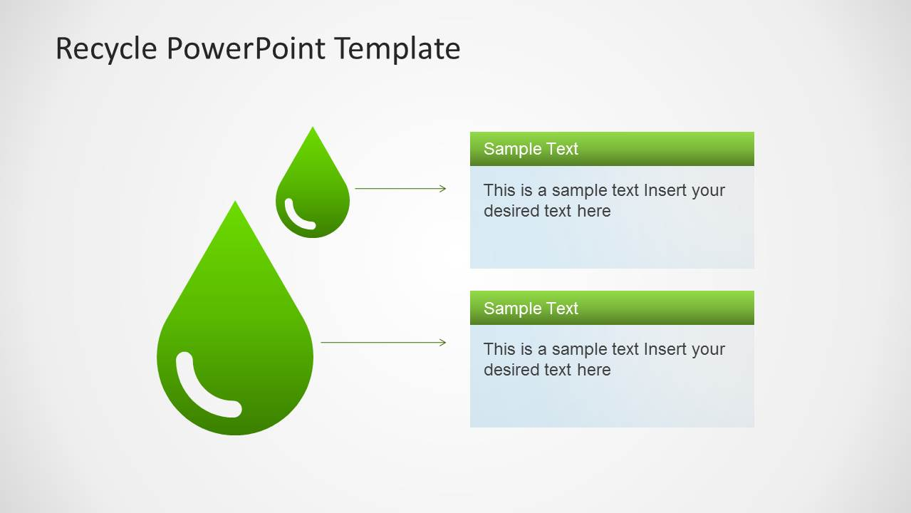 Water Drop Clipart for PowerPoint