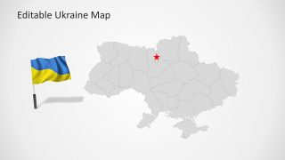 Ukraine map template for powerpoint slidemodel ukraine map template for powerpoint is a presentation with editable ukraine geographical shapes this presentation is ideal for location references or toneelgroepblik Images
