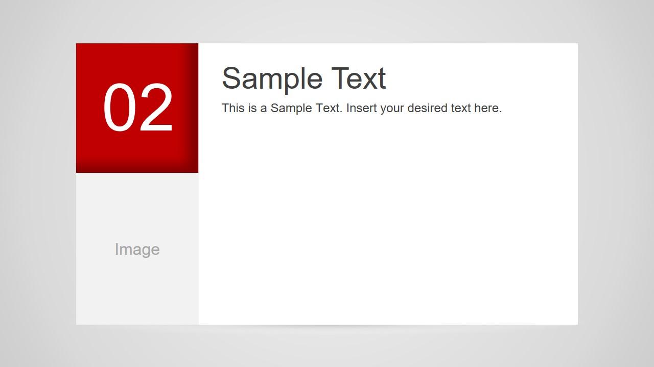 Number 2 Slide Design for PowerPoint