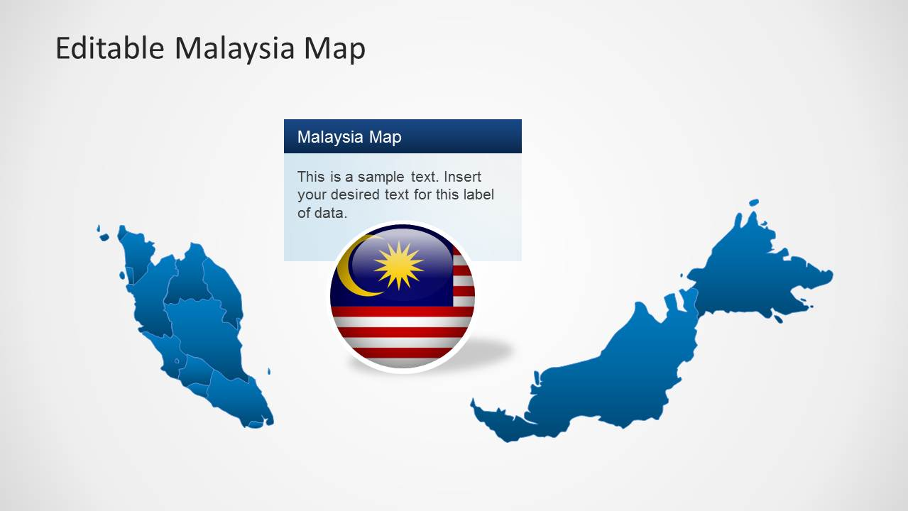 malaysia map template for powerpoint
