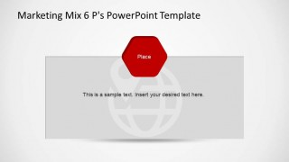 Marketing Mix Place PowerPoint Template