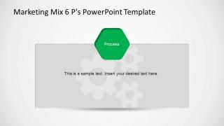 Marketing Mix Process PowerPoint Slide