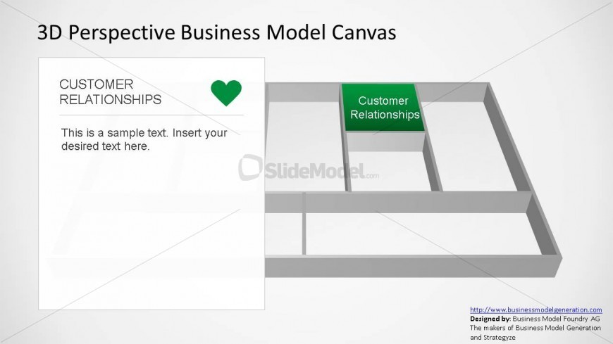 Business Canvas Template for PowerPoint