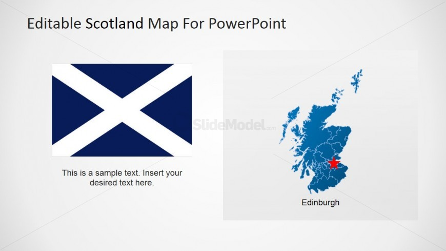 PowerPoint Scotland Flag Clipart